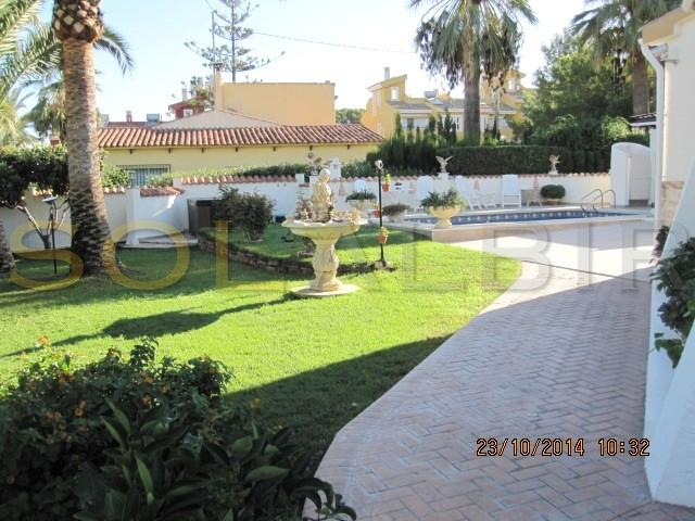 Part of the lovely one level garden