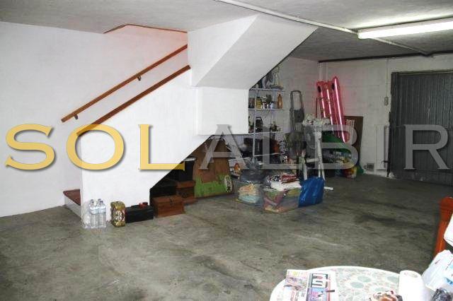 The garage / utility room / storage