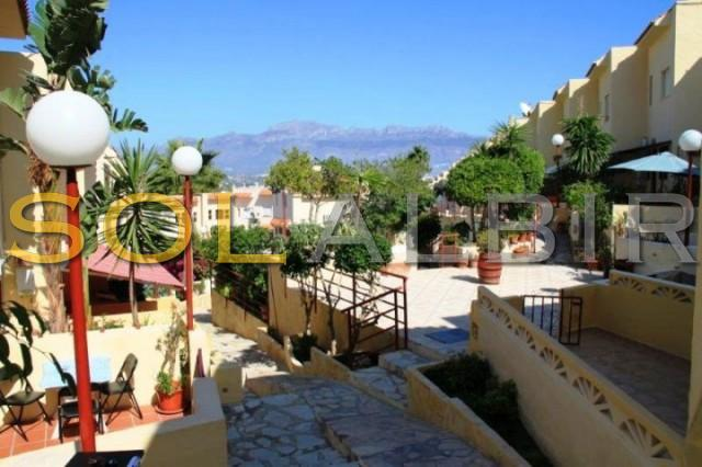 Inside the typical spanish styled community