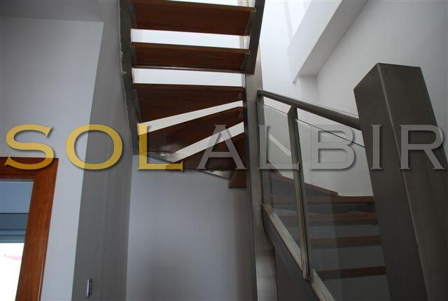 Steps to reach second floor