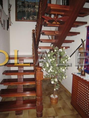 Wood steps