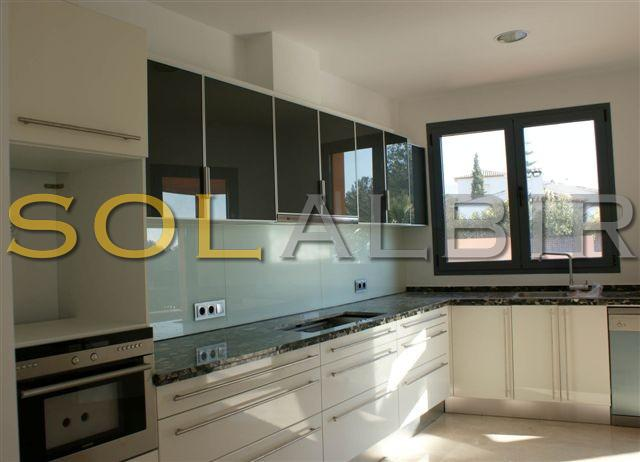 Large ultra-modern kitchen