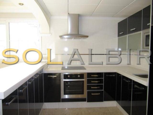 Guest flat kitchen
