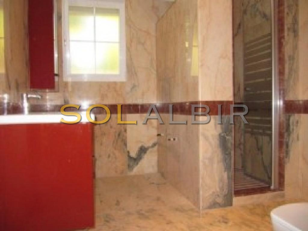Another marble bathroom