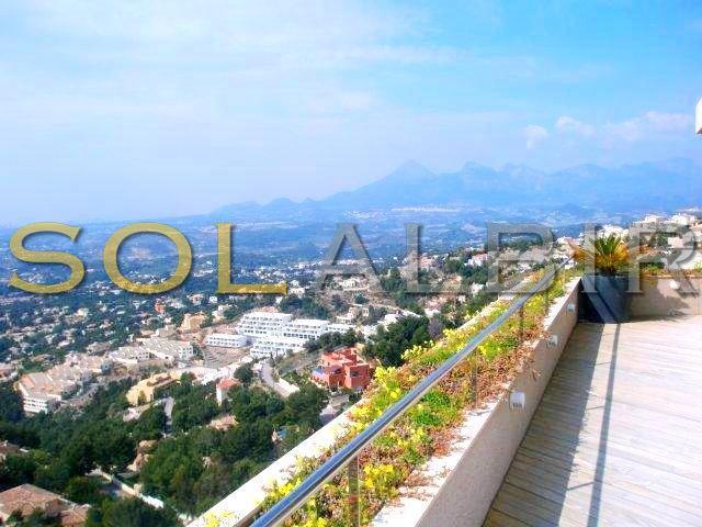 Mountains views