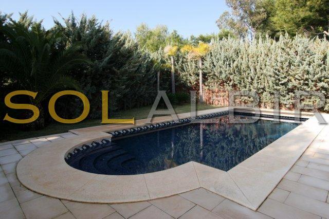 Pool private area