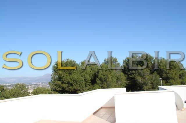 Different views from the solarium
