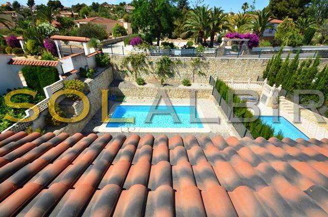Visits from the solarium to the pool area