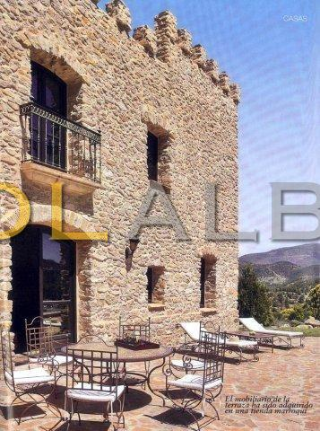 Medieval style finca