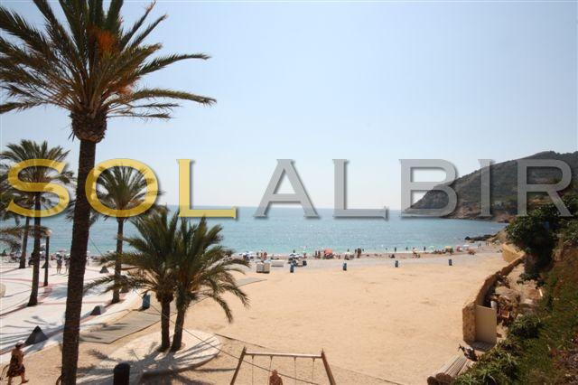 Another angle of the Albir beach