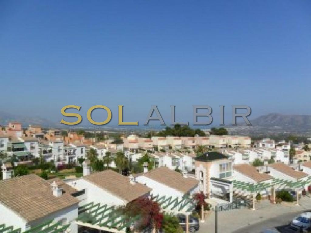 Sea views from the solarium