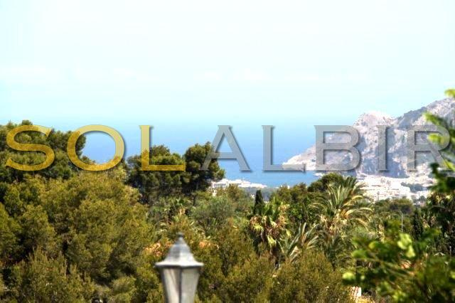 Albir and sea view
