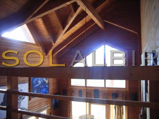 Cathedral style ceilings and exposed beams