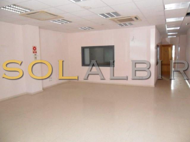 Large commercial premises with office