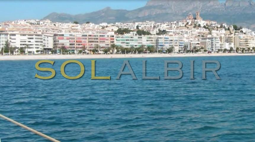 Altea view from the sea