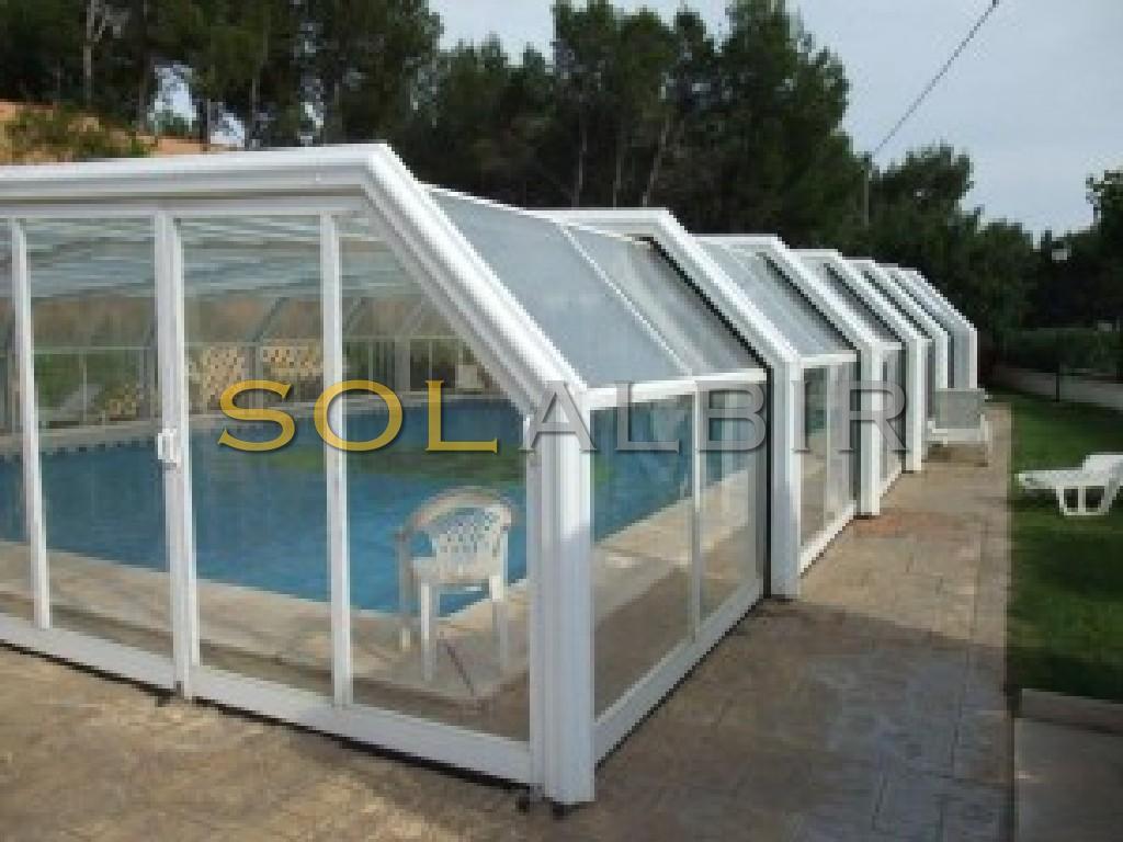 Heated communal pool