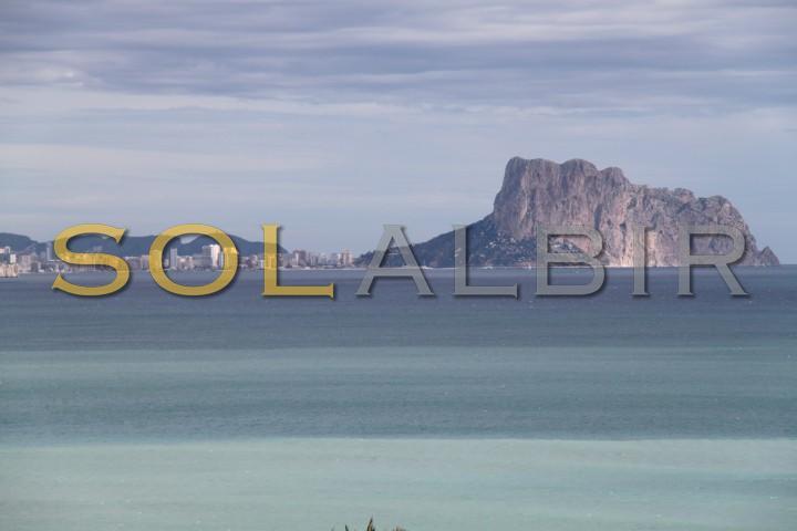 The nice mountain of Calpe