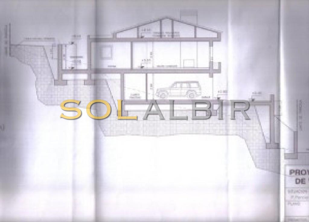 Project to build a house of 489m2