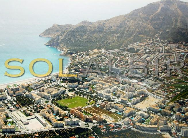 The photo of Albir from the air