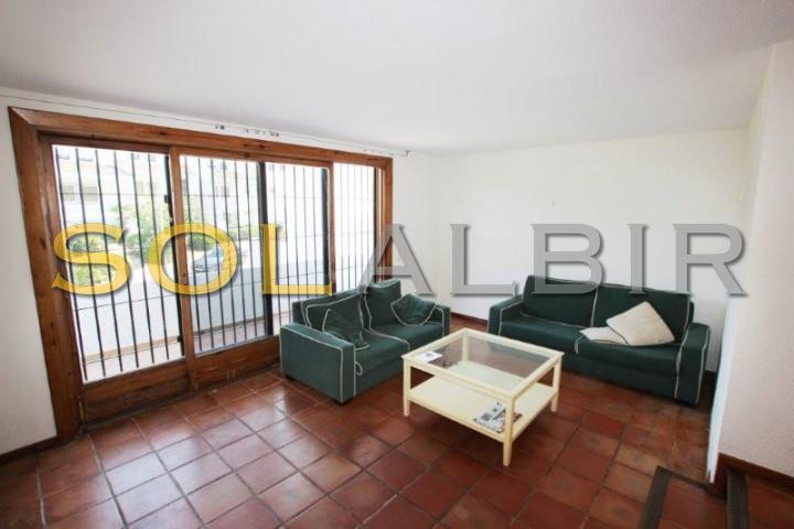 Living room with access to ample terrace