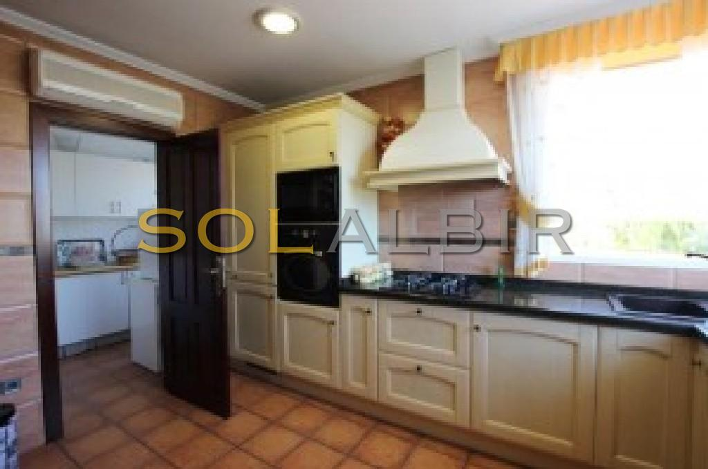 Kitchen with utility room