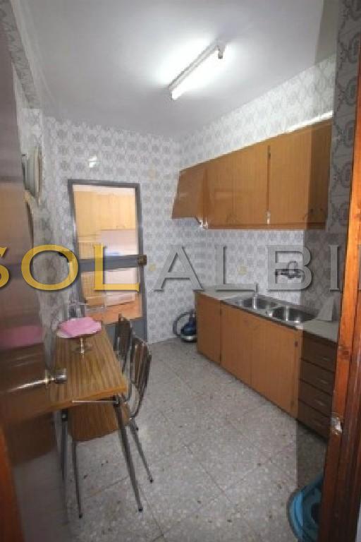 The kitchen in first floor