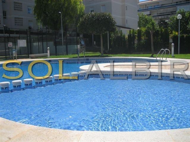 Communal outdoor pool