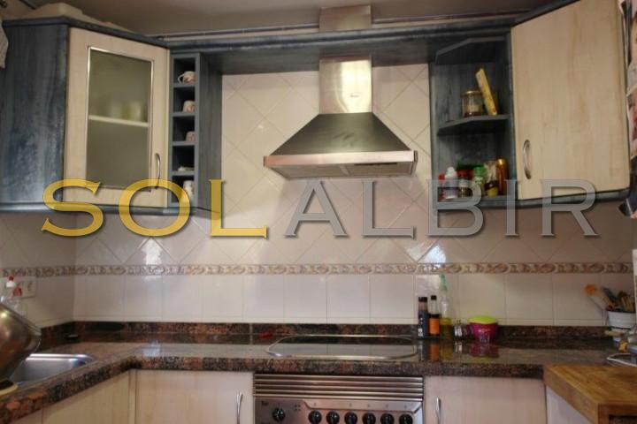 American kitchen (apartment)