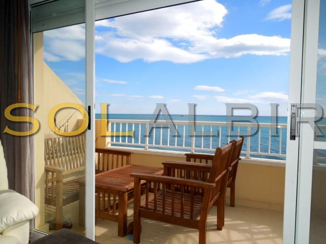 Ample terrace with fantastic sea views