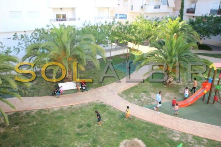 Green zones and play area