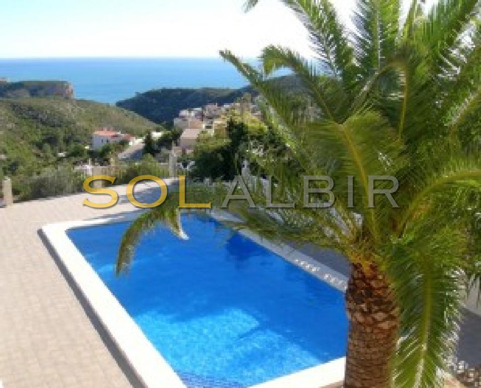 Fantastic sea views from the pool