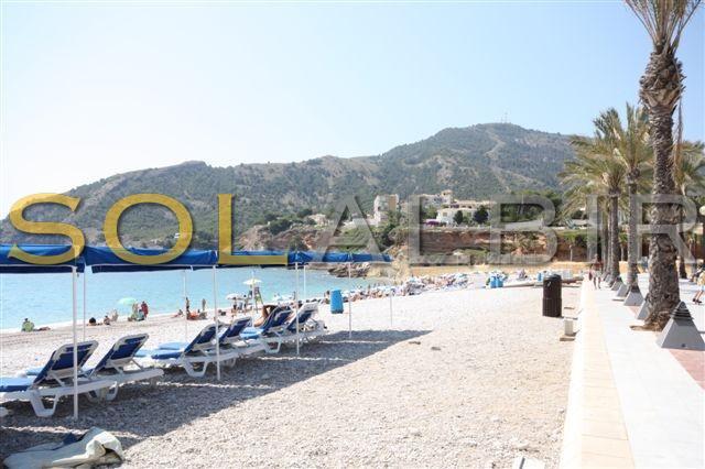 The whole Albir beach