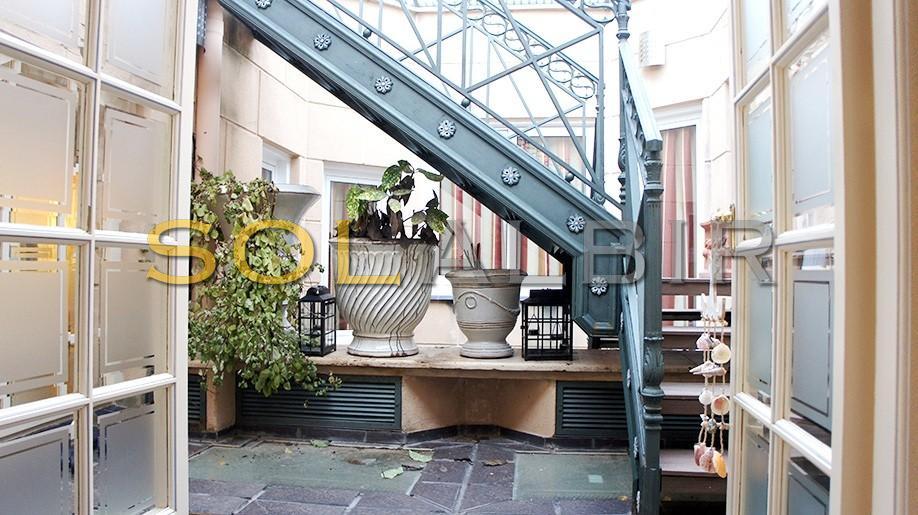 Stairs to the solarium