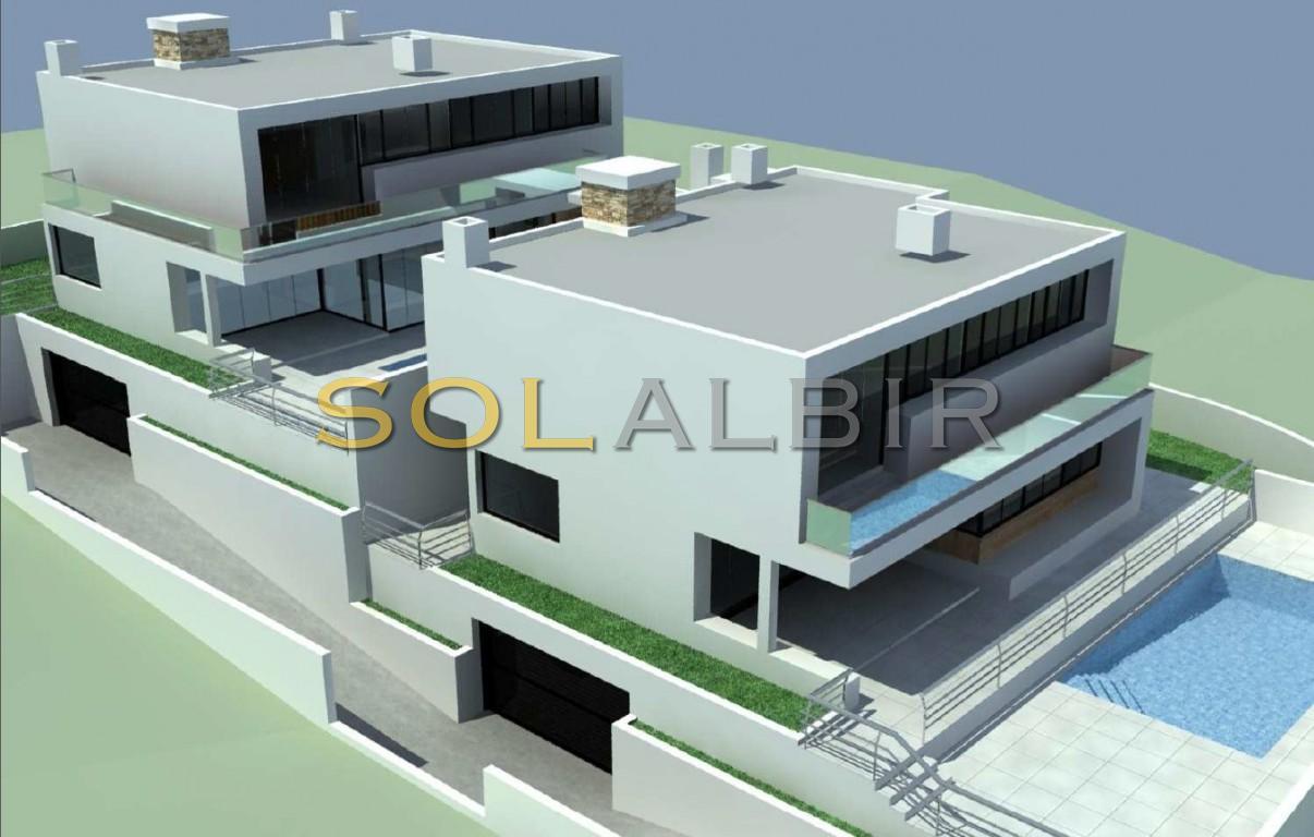 Two possible semi-detached villas