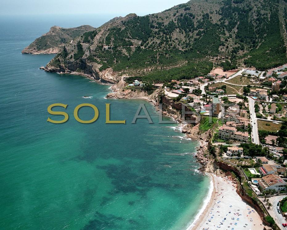 Albir coast