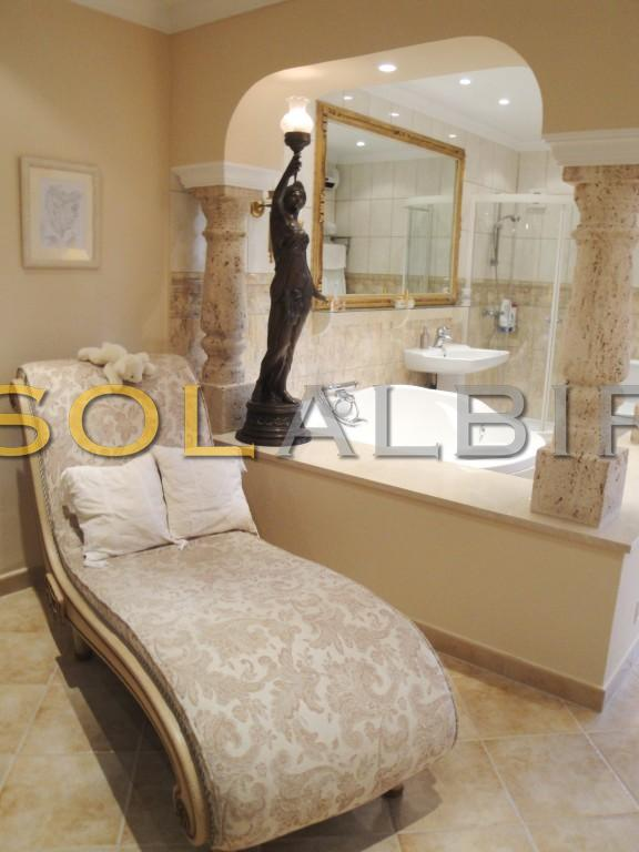One of the bath rooms upstairs