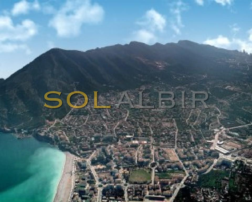 The overview of the bay/beach of Albir