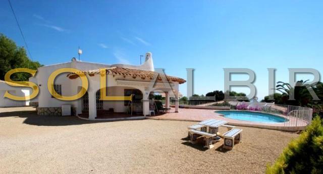 The sunny villa