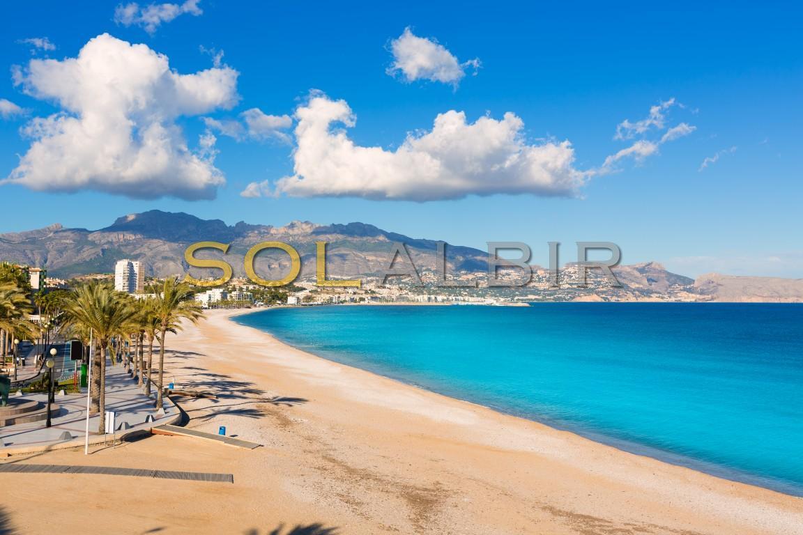 The beach of Albir
