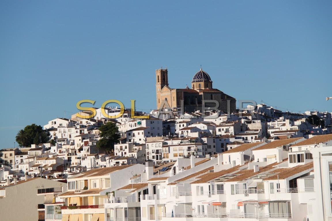 The views of Altea in the other side of the same bay