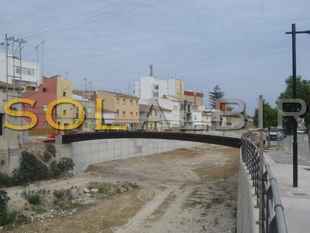 The new build bridge which leads you to the heart of Vergel