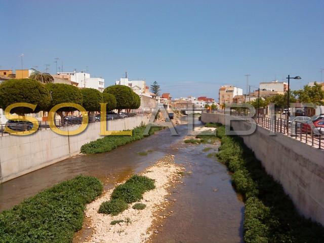 The river in springtime