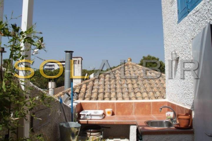 Summer kitchen on the solarium