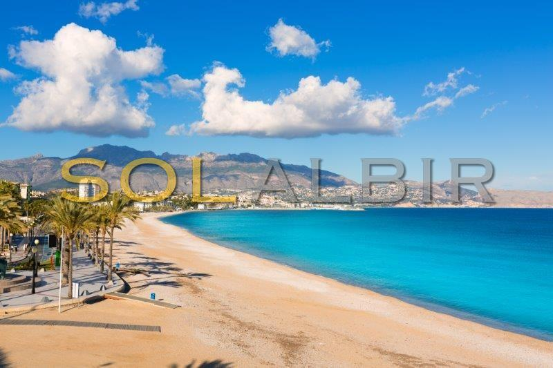 The Albir beach