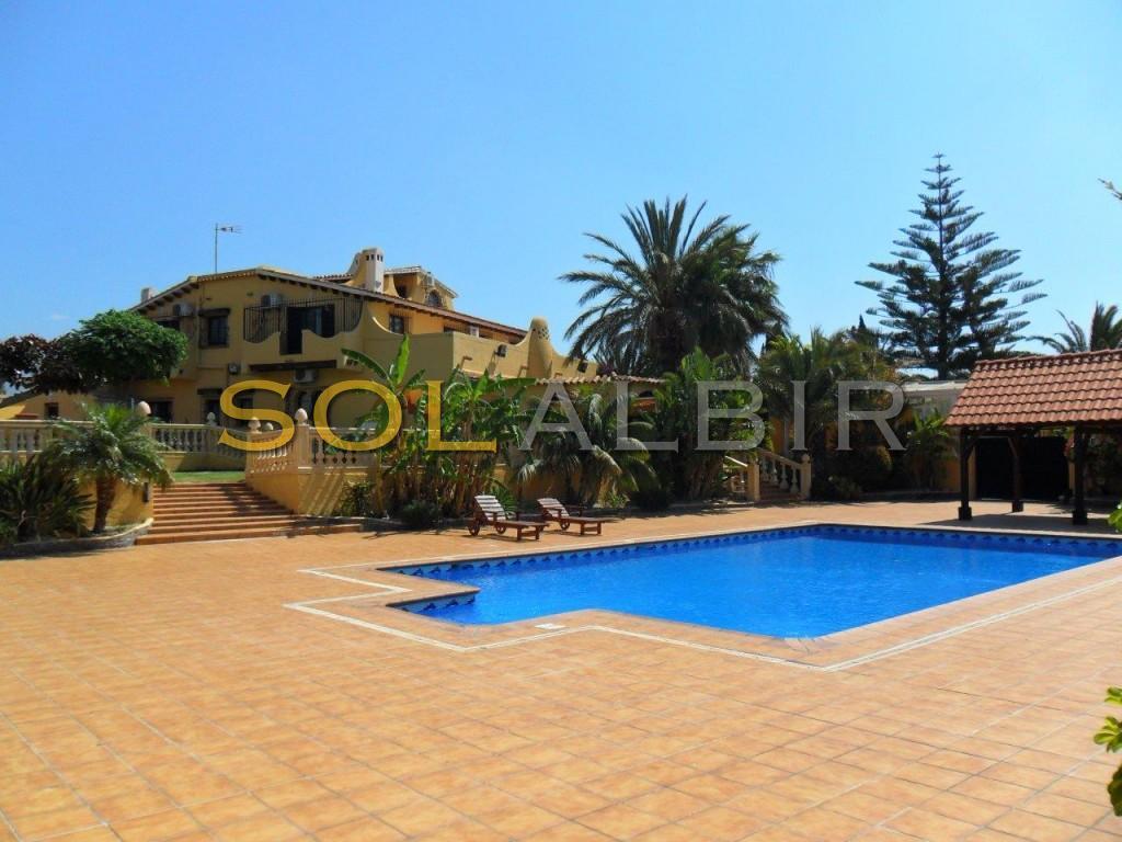 Fantastic view of the villa