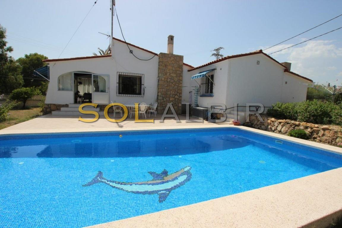 Villa with privet pool