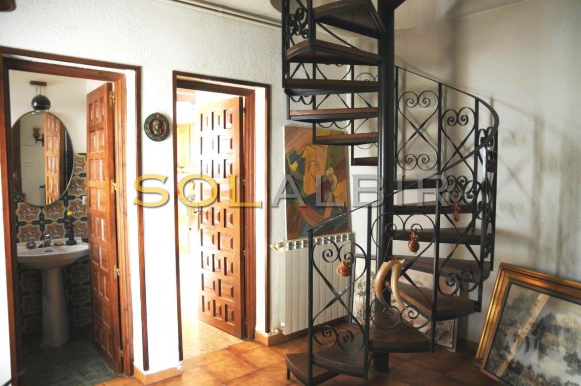Antique spiral staircase