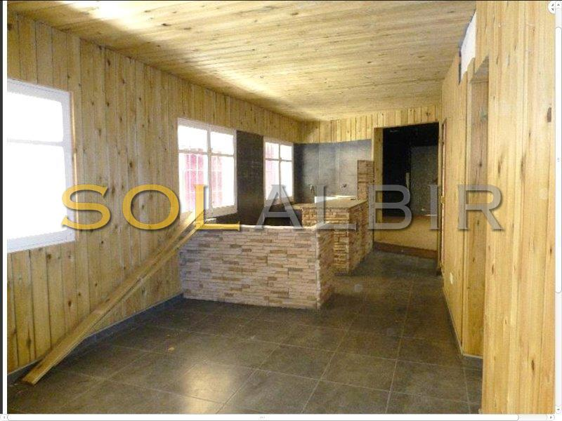 This is the wooden room