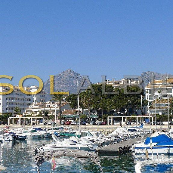 The port in Altea