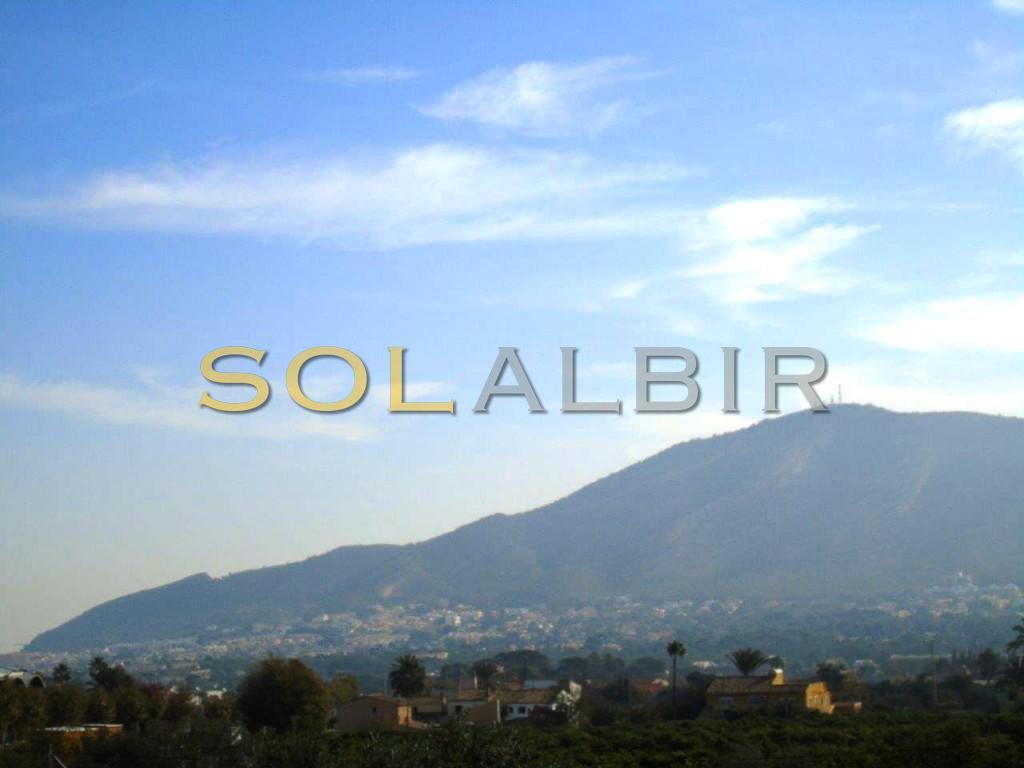 View of Serra Gelada and Albir